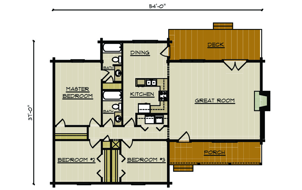 28 Nelson Lagoon Log Home Plan Home Plan 1416 Now